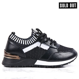 women sneakers kiki in black