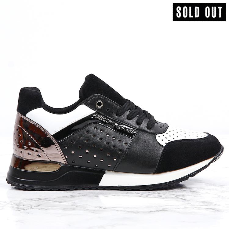 women sneakers sara in black