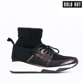 women sneakers evita in black