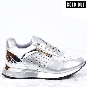 women sneakers sara in silver