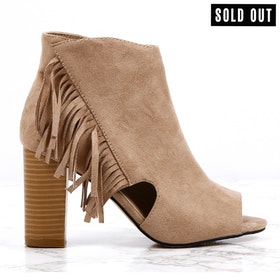women cate milly brown heels