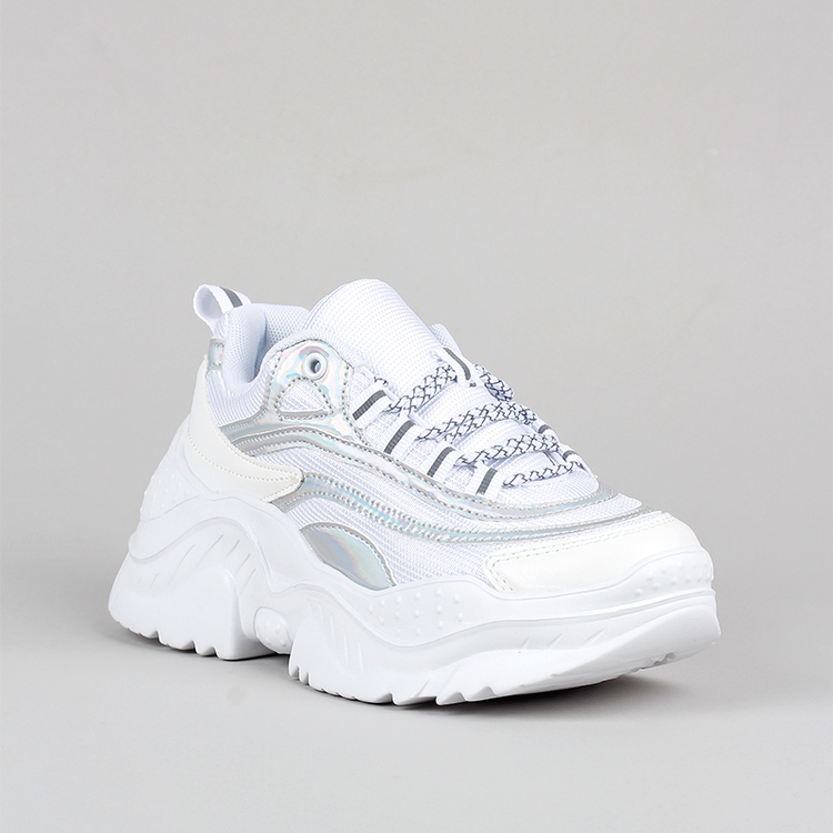 Chunky sneakers Amy in white