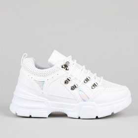Chunky sneakers Alice in white