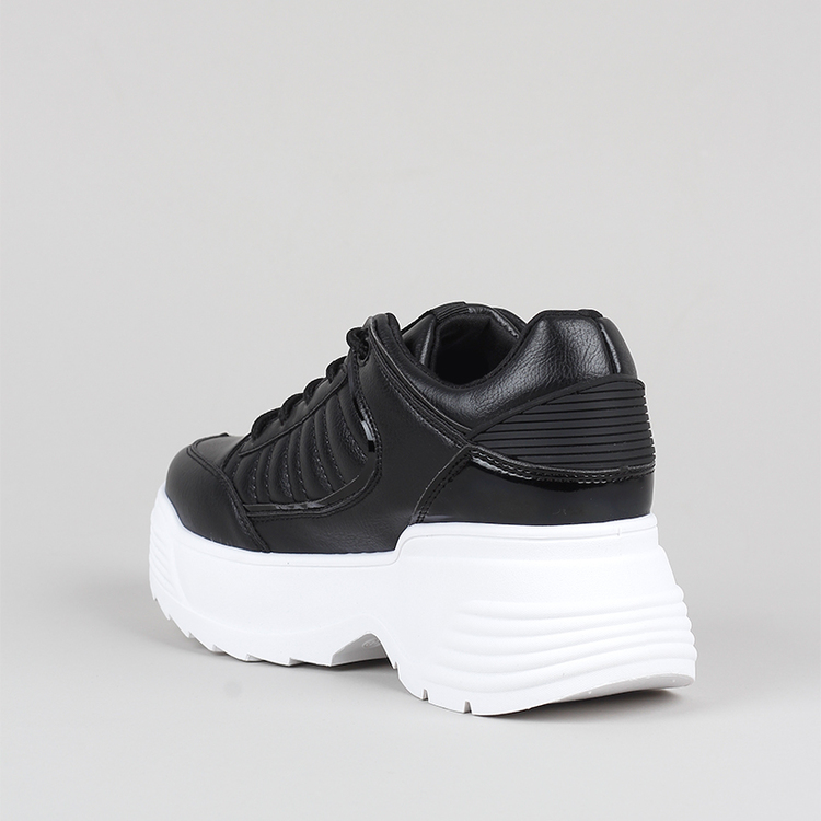 Chunky sneakers Cliff in black