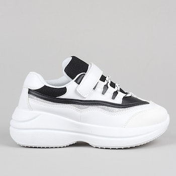 Chunky sneakers Sanna in white
