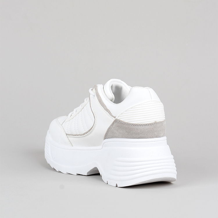 Chunky sneakers Cliff in white