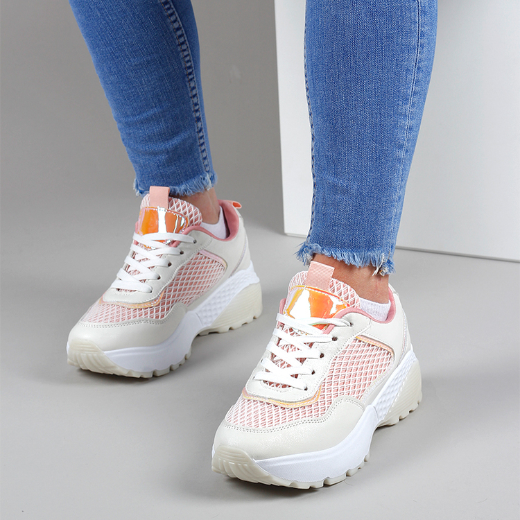 Sneakers Lilly in pink