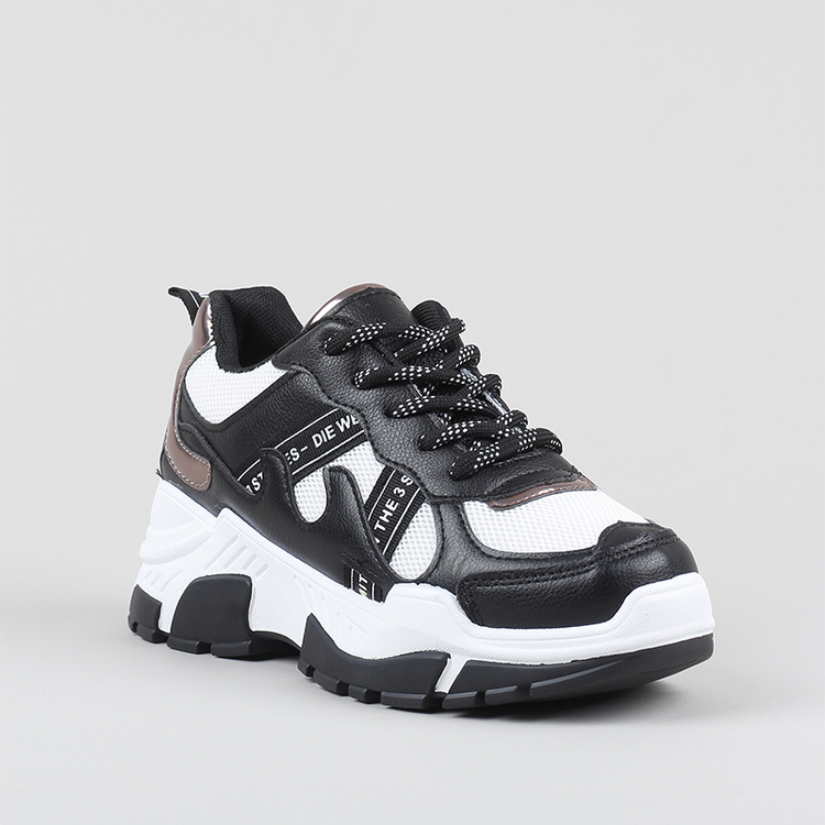Chunky sneakers Jenny in black