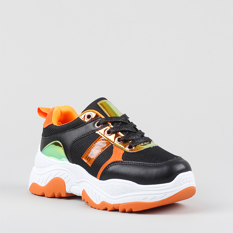 Chunky sneakers Amber in black