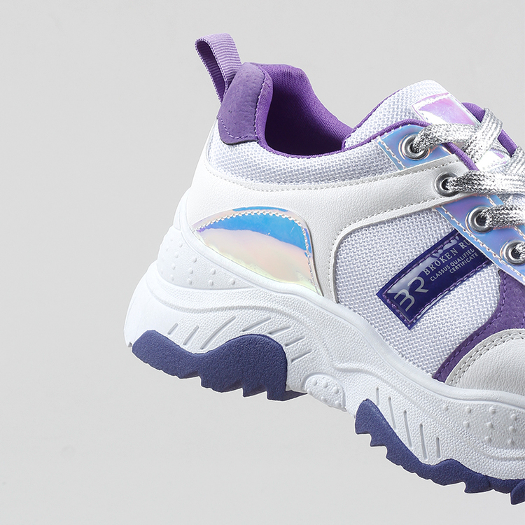 Chunky sneakers Amber in Purple