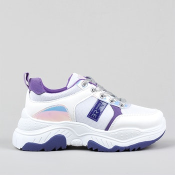Chunky sneakers Amber in Purple