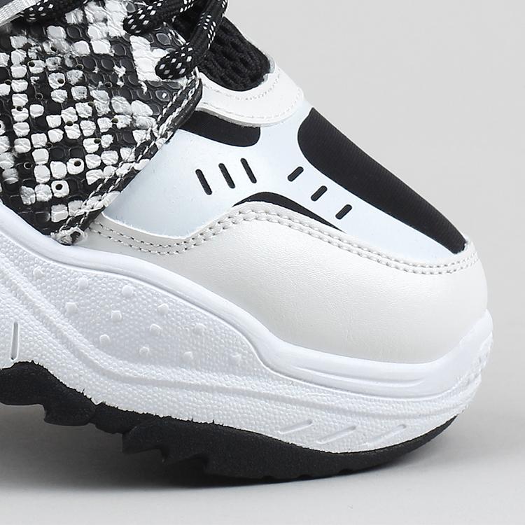 Sneakers Stella in white snake