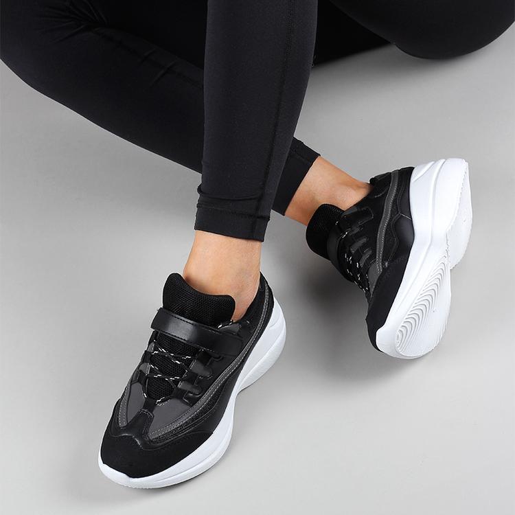 Chunky sneakers Sanna in black
