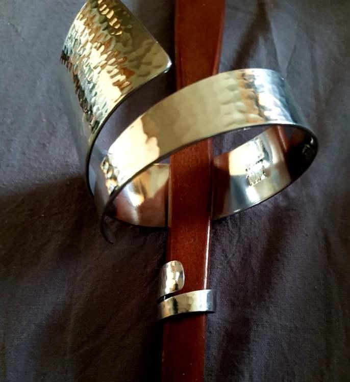 """Culture Mix """"Silver"""" armband, ring säljs separat"""