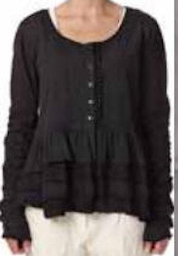 Second hand, butiksplagg, trikå blusjacka från Ewa i Walla NU 750 kr!
