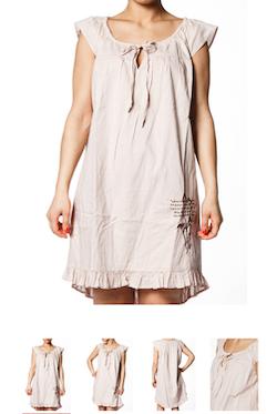 Carolina beige klänning/tunika från Du&Jag