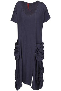 Ewa i Walla trikåklänning Midnattsblå