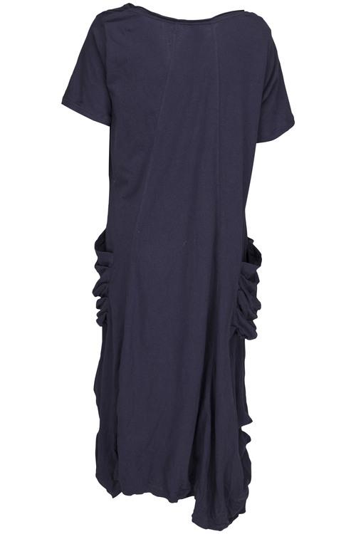 Ewa i Walla trikåklänning Midnattsblå 55458