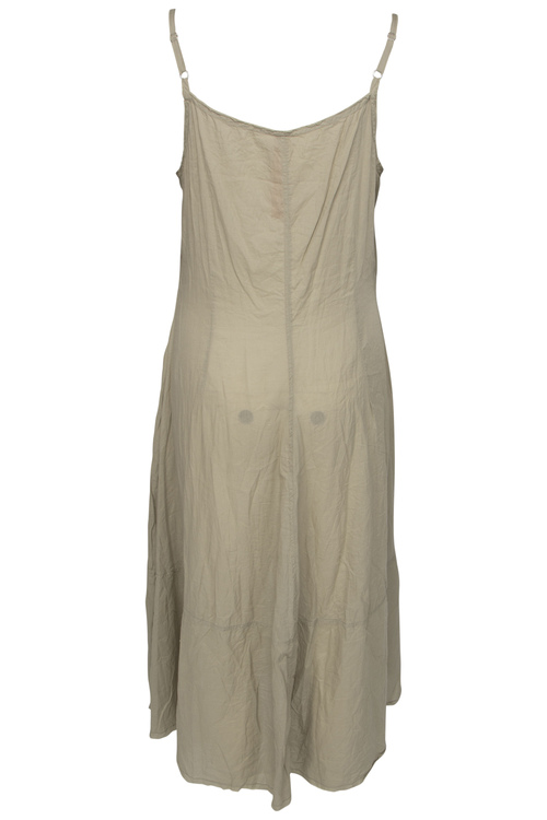 Khakifärgad ärmlös klänning 55523  från Ewa i Walla,