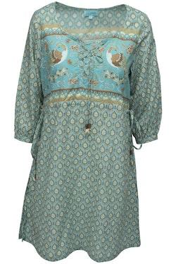 Lalamour  tunika/klänning, finns i turkos och vinrött