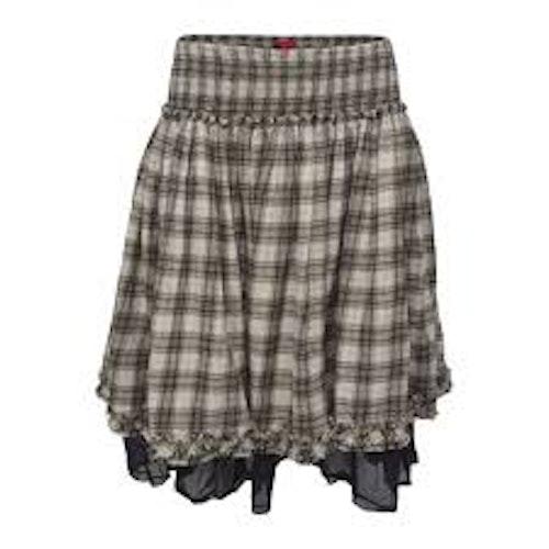 Rutig kjol Ewa i Walla 22879