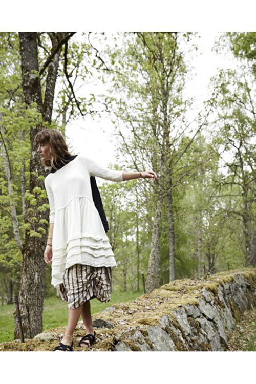 Klänning med halvlång ärm 55490, från Ewa i Walla