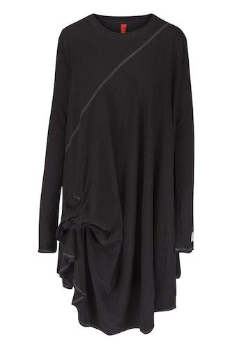Ewa i Walla svart eller brun trikåtunika/klänning 44545