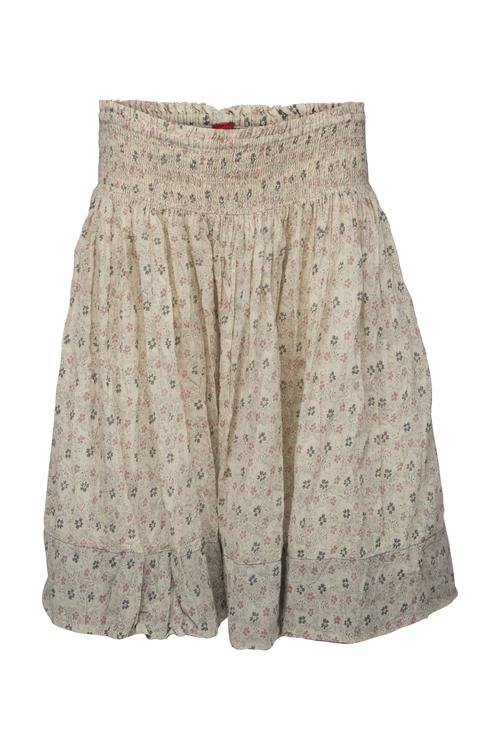 Ewa i Walla blommig kjol Beige