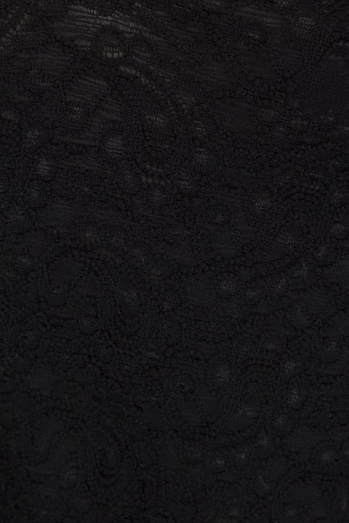 Designwerket svart spetstunika Gunvi