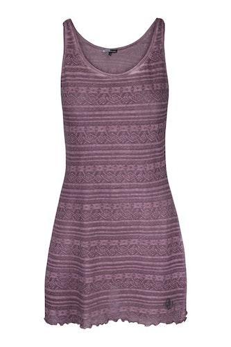 DesignWerket klänning/tunika Diana i ljungrosa trikå