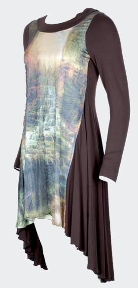 Designwerket tredimensionell klänning