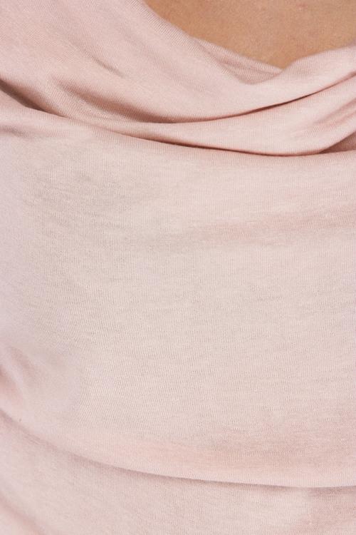 Karen By Simonsen Balla Trikåtop 43022, puder rosa eller svart