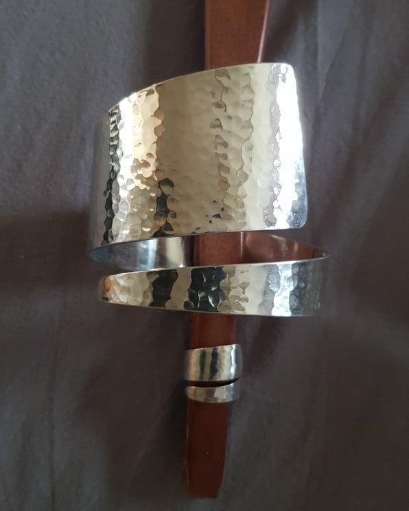 """Culture Mix """"Silver"""" ring, armband säljs separat"""