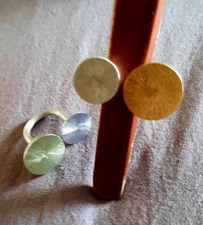 Culture Mix ring, u ring med 2 plattor, finns i 2 färger