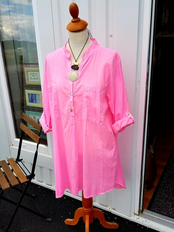 Skjorttunika från Cabana Living one size