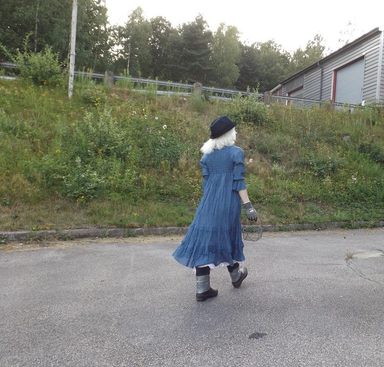 Klänning Saga i bomullsvoile från Faith, 4 färger
