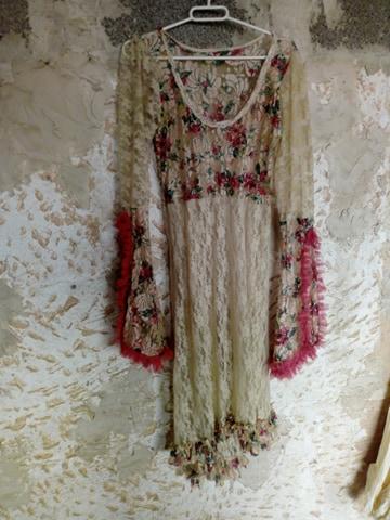Spetsklänning från Kailash, one size
