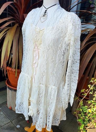 Kailash , blusjacka i spets One size