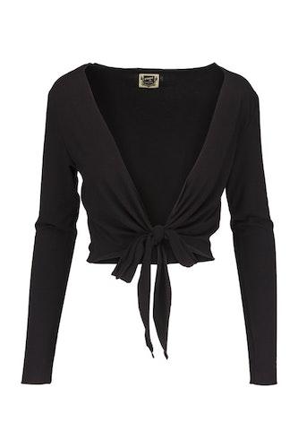 Nätt svart bolero från DesignWerket, med lång ärm, Beatrix
