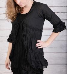 Blusjacka Stina i bomullsvoile' från Faith, finns i 2 färger