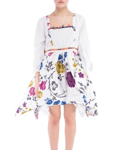Ewa i Walla klänning/tunika med blomstermönster 55352