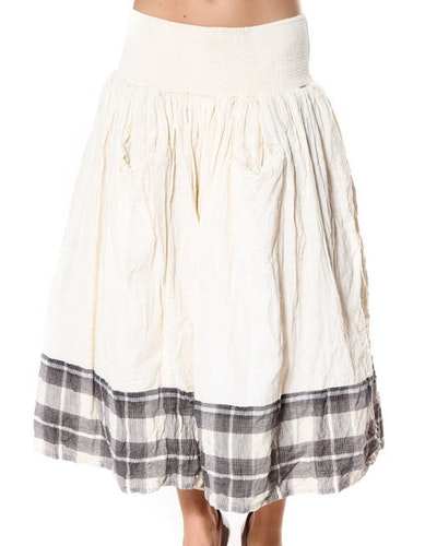 Ewa i Walla kjol med rutig nederdel one size