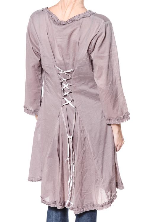 Miel blusjacka/tunika med snörning