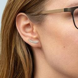 Ear Climber Barr – Örhänge i Återvunnet Silver