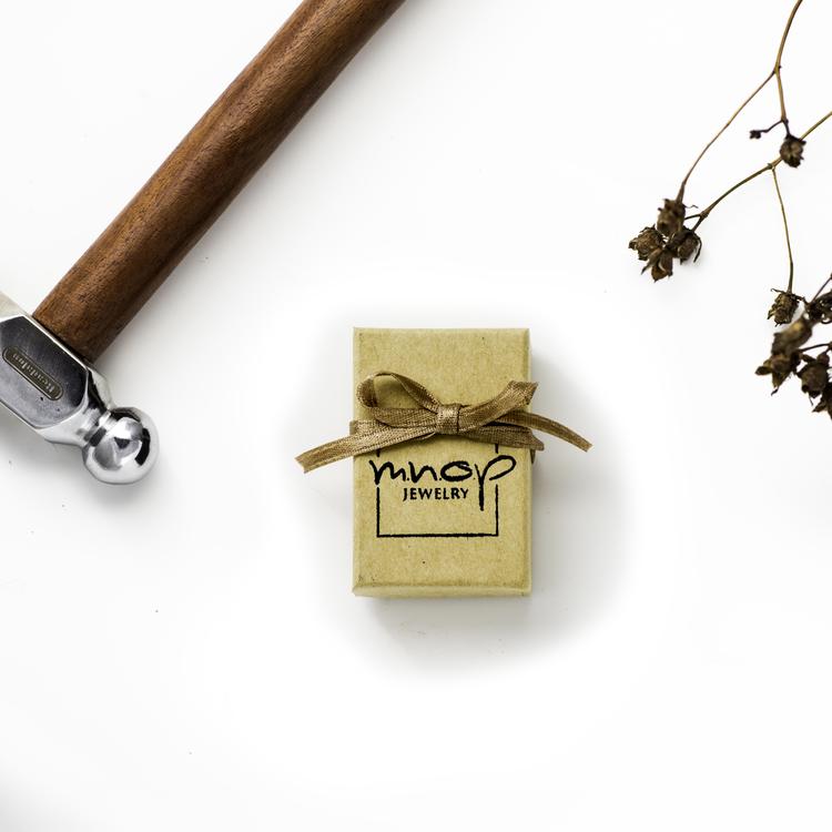 18K Guld Mini Huggies Örhängen i Återvunnet rödguld