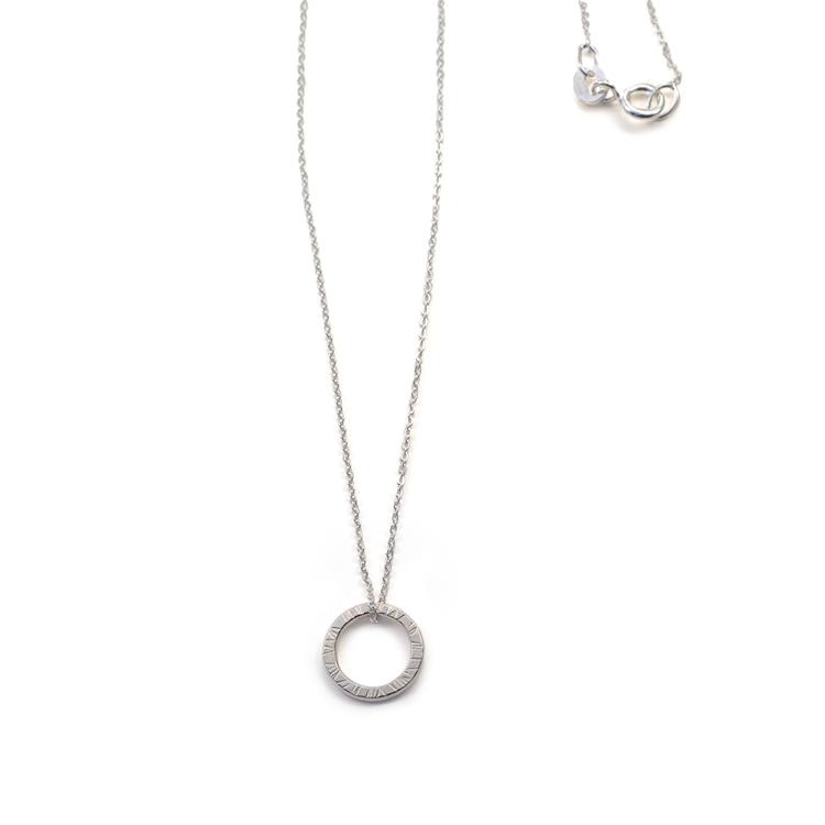Bark - Kort Halsband i Återvunnet Silver - MNOP Jewelry - Handgjorda ... c6567bf84850c