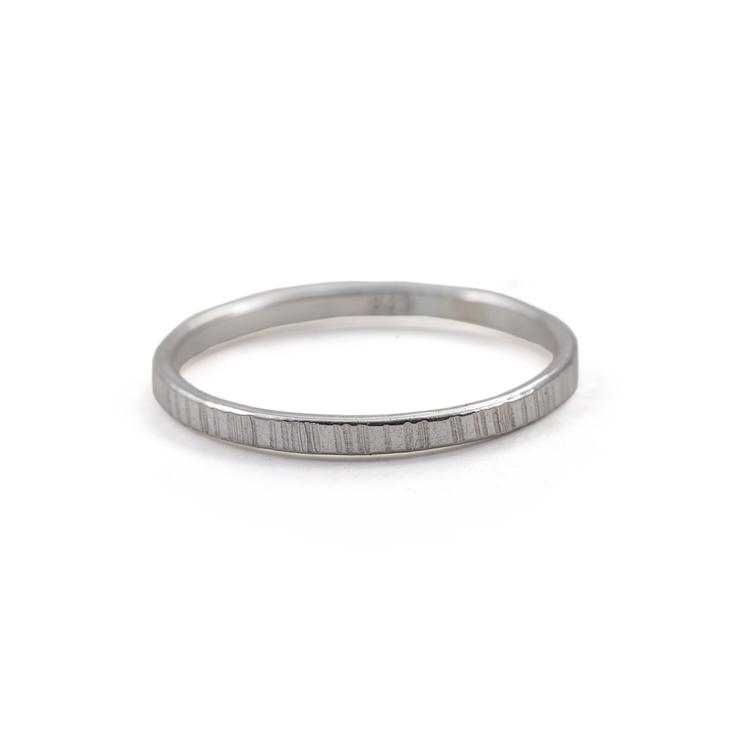 Bark - Ring i Återvunnet Silver