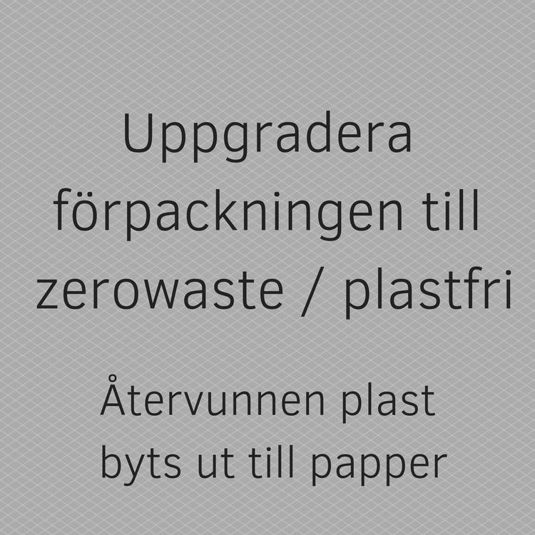 Uppgradera till zero waste /plastfri