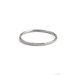 Tunn Ring 1,2 mm i Återvunnet Sterling Silver