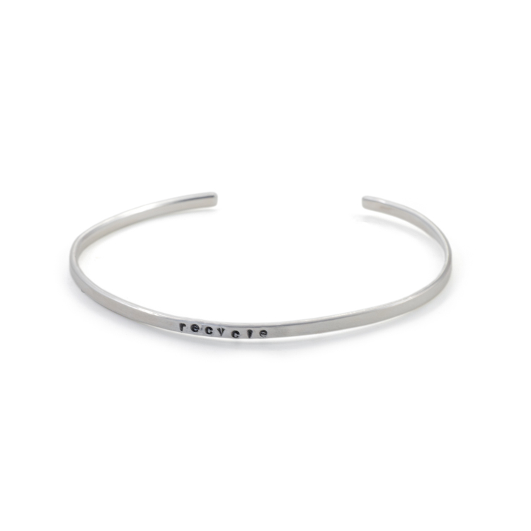 Recycle - Armband i Återvunnet Silver